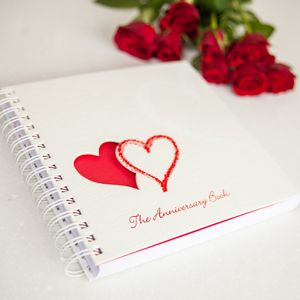 1st To 50th Wedding Anniversary Memory Book - planners & record books