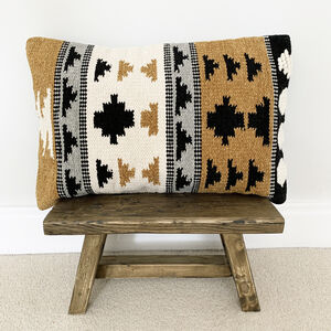 Scandi Boho Mustard Cushion