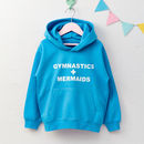 Girls Personalised Favourite Things Hoodie