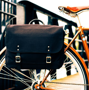 Satchel Bike Bag - men's accessories