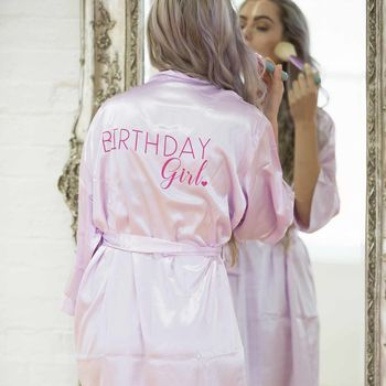 Birthday Girl Robe