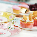 afternoon tea party plates