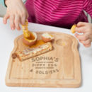 Personalised Egg And Toast Board For Children