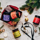 Christmas Gift Set Of Alcoholic Jams Free Shipping