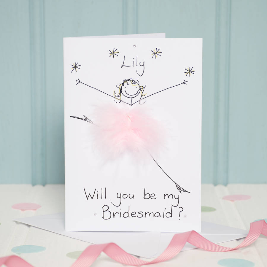 will you be my bridesmaid gift ideas notonthehighstreet