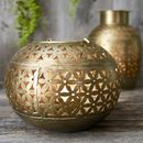 Brass Bowl Tealight Holder