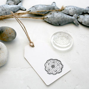 Sea Urchin Clear Rubber Stamp