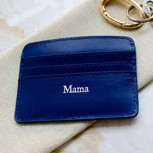 'Mama' Leather Card Holder