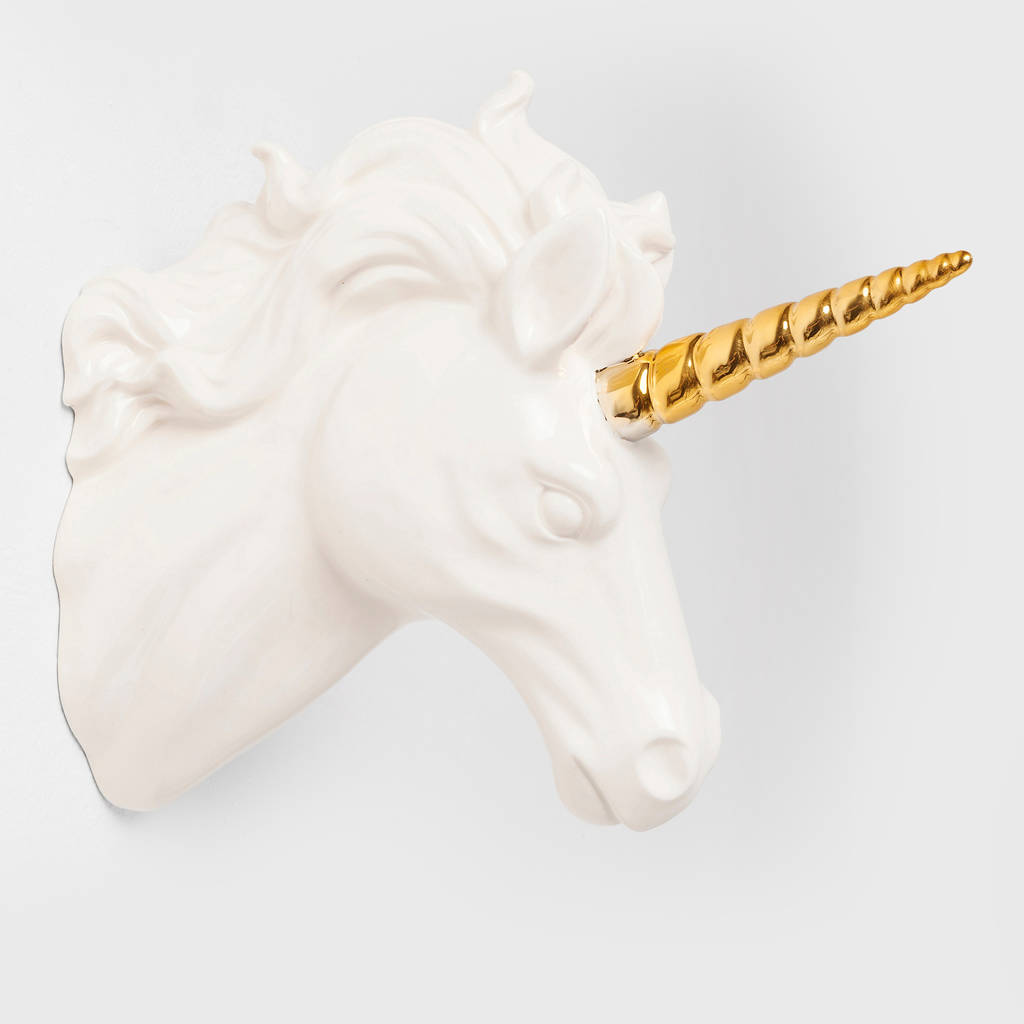 Unicorn Head Wall Decoration