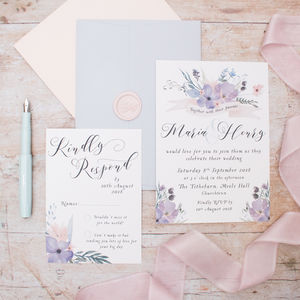 Midsummers Night Wedding Invitation
