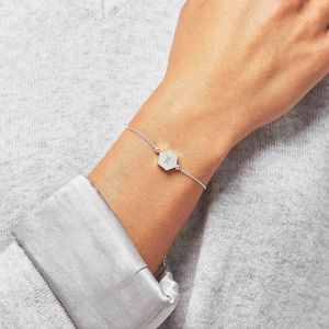 Personalised Skinny Hexagon Bracelet - gifts for her