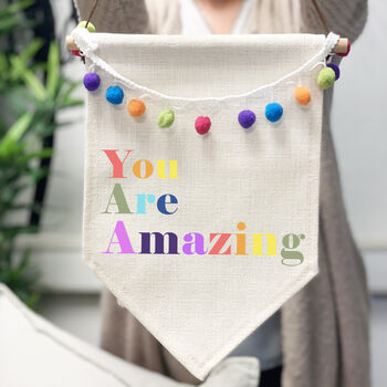 You Are Amazing Pennant Flag