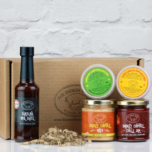 Build Your Own Barbecue Sauce And Spice Box Gift Set - make your own kits