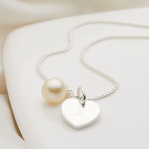 Personalised My First Pearl Necklace - children's accessories