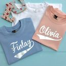 Baby Foil Personalised Name T Shirts