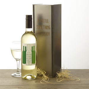 Personalised Chilean White Wine - gifts to drink