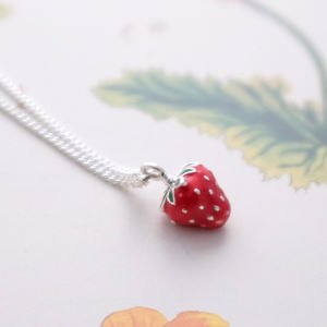 Little Strawberry Necklace