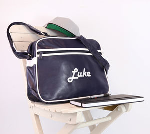Personalised Retro Messenger - bags, purses & wallets