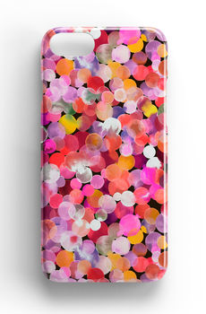 Pink Watercolour Dots Phone Case iPhone Samsung