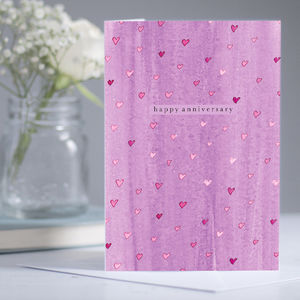 Romantic Anniversary 'Anniversary' Card - shop by category