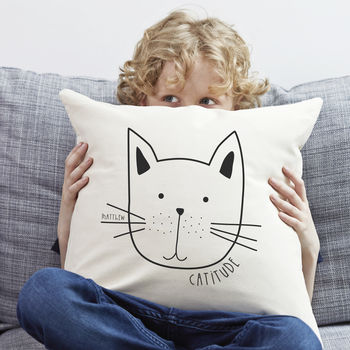 Personalised 'Cat' Cushion
