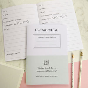 Reading Journal - writing