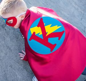 Personalised Superhero Cape - children's parties