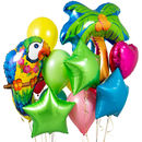 Tropical Crazy Party Balloon Bunch