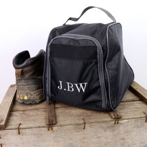 Personalised Walking Boot Bag