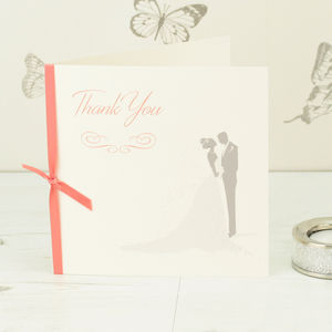 10 Bride And Groom Thank You Cards