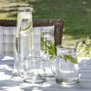 Meze Glass Carafes And Jugs