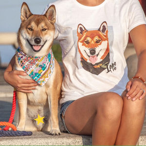 Personalised Custom Women's Pet Tshirt - women's fashion