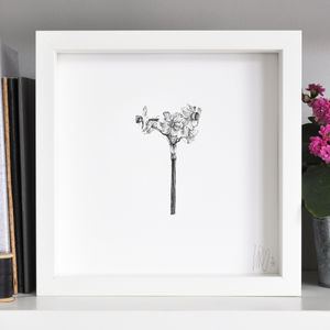 Narcissus Flower Print