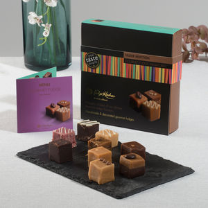 Gourmet Fudge Taster Selection - chocolates & confectionery