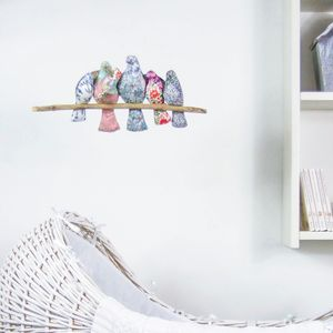 Cot Mobile: Liberty Print Birds 'Our Family Tree'