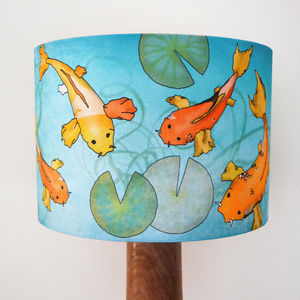 Koi Carp Lampshade - children's lighting