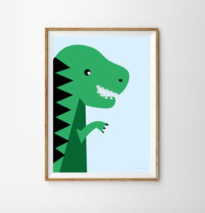 Dinosaur Children's Print - what's new