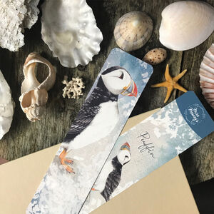 Puffin Bird Tearproof Bookmark