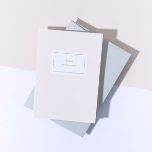 'Bon Anniversaire' Card, Pale Grey Envelope