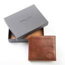 Personalised Wallet With Coin Section. 'The Ticciano'
