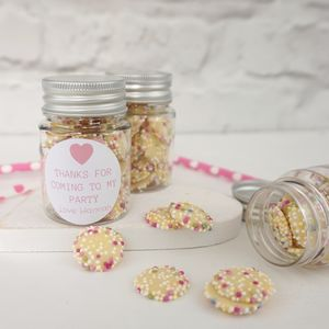 Party Bag Sweetie Jars X Five - wedding favours
