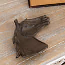 Cast Iron Horse Head Trinket Dish