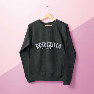 'Bridezilla' Ladies Sweater - women's fashion
