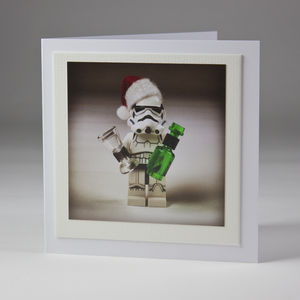 Stormtrooper Bad Santa Card