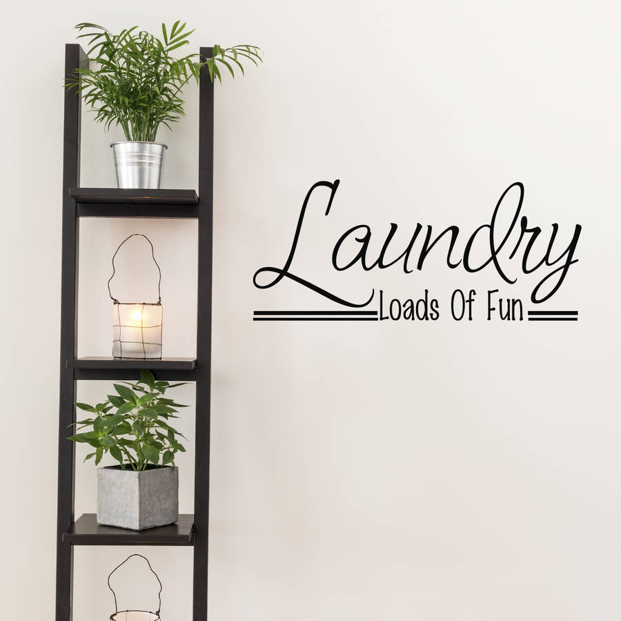 Laundry Room Wall Art Quote