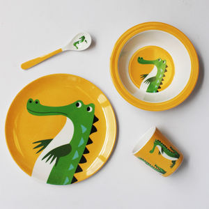 Crocodile Melamine Tableware - bowls