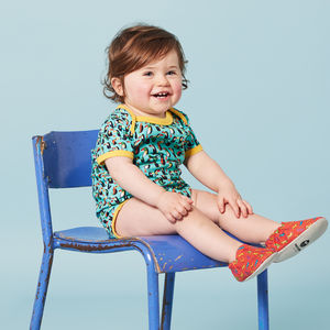 Toucans Short Sleeve Bodysuit - gifts for babies