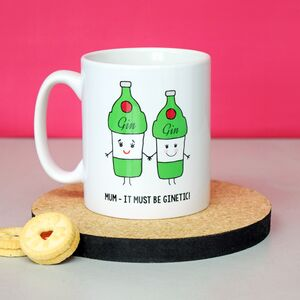 'It Must Be Ginetic!' Mother's Day Mug