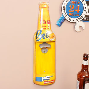 Retro Wall Mounted Beer Bottle Opener - kitchen accessories