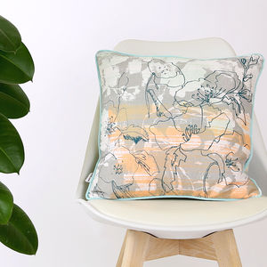 Screen Printed Emma Cushion - cushions